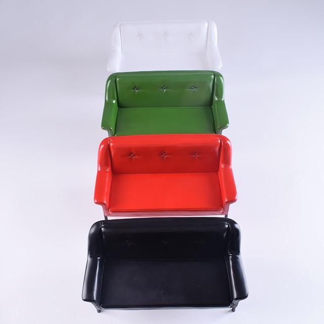 1 6 échelle figurine accessoire maison de poupée meubles canapé chaise de plage fauteuil Double simple canapé pour 12 pouces Figure poupée cadeau
