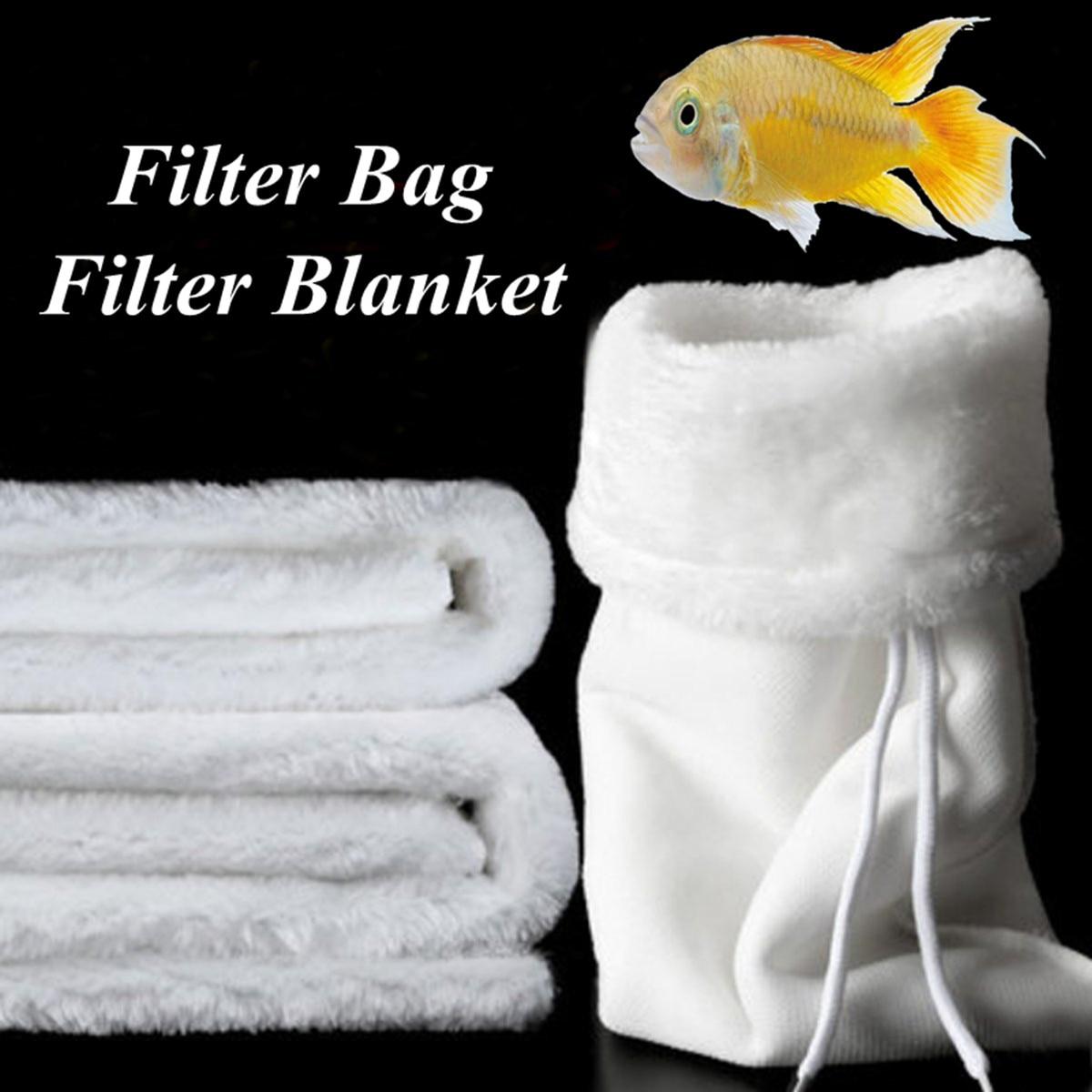 New Polyester Fish Tank Aquarium Marine Sump Felt Pre Dry Wet Separation Filter Sock Blanket Filter Bag Aquarium Filter Cotton Водоочистка