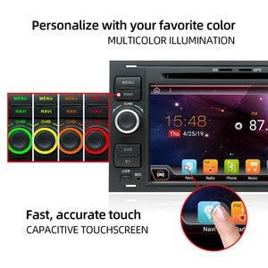 Image 2 - Bosion 2 דין אנדרואיד 10 רכב GPS עבור פורד מונדאו S מקס פוקוס C MAX Galaxy פיאסטה מעבר היתוך להתחבר kuga DVD נגן 4GB 64GB