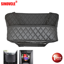 Hippcron Storage Bag Car Rear Seat Back Hanging Nets Pocket Trunk Bag Organizer Auto Stowing Tidying Interior Accessories