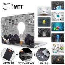 Mtt luva do portátil para macbook ar pro 11 12 13 15 16 retina com barra de toque lâmpada caso para macbook 13.3 polegada capa a2289