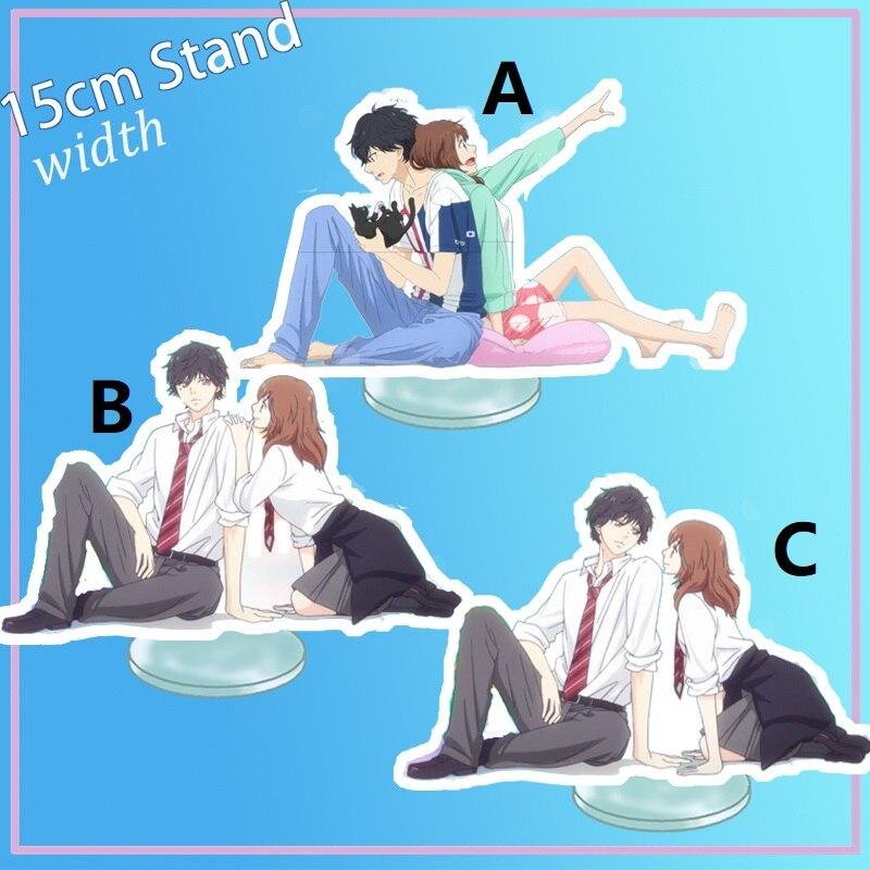 Ao Haru Ride Anime Acrylic Stand Figure 15cm Yoshioka Futaba Mabuchi Kou