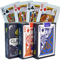 100% PVC New Pattern Plastic Waterproof Adult Playing Cards Game Poker Cards Board Games 58*88mm cards