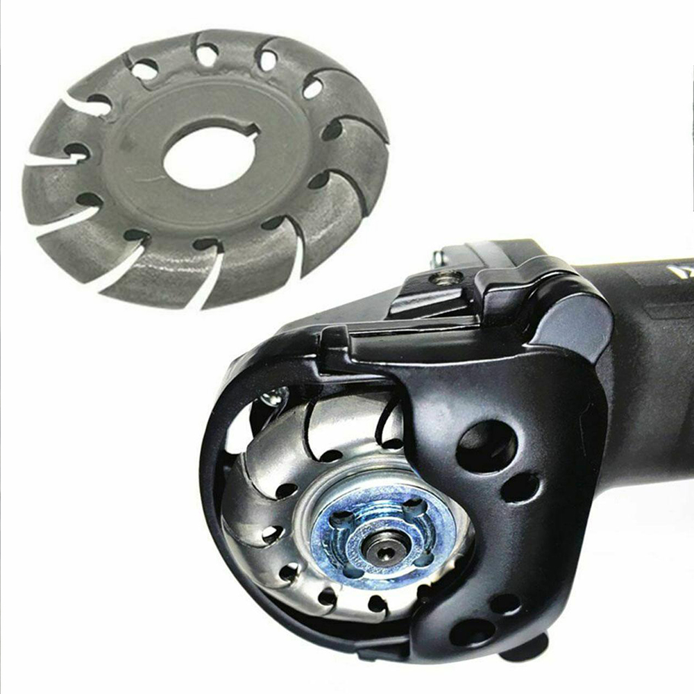 Angle Grinder Disk Wood Carving 12 Teeth 16mm Bore Shaping Disc 65mm Woodworking For Wood Polishing Finishing