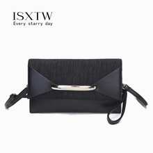 ISXTW Envelope Clutch Bag Women Birthday Party Evening Clutch Bags For Women Ladies PU Leather Shoulder Bag Purse Female/ A49 100% real fur women handbags colorful fox fur day clutch bags chains shoulder purse envelope bag leather evening bag