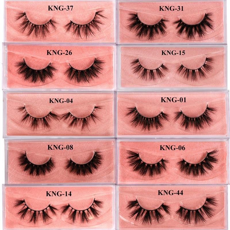 Eyewin False Eyelash 3D Mink Lash 100% Cruelty Free Lashes Cilios Dramatic Reusable Natural Eyelashes Popular Fake Lashes Makeup