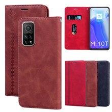 Fall Für Xiaomi Mi 10T Pro чехол Telefone Leder Flip Stand Abdeckung Brieftasche Fall Für Xiaomi Mi 10T 5G Funda Magnetische Protector