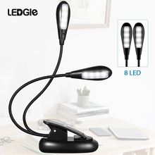 LEDGLE Rechargeable Book Lights Compact LED Book