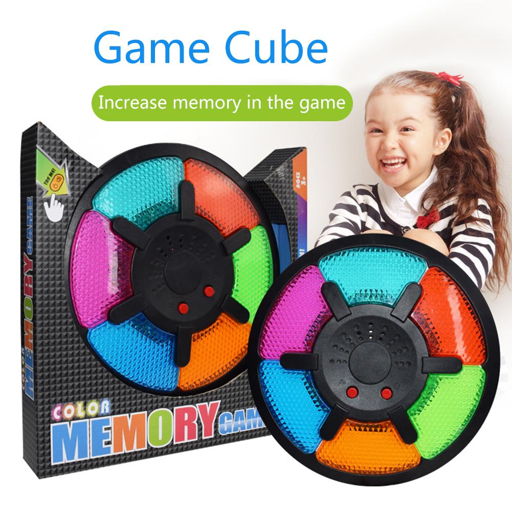 Memory Cube Six Grid Electronic Drum Game Memory Game Machine Toy Music Learning Education Learning Machines