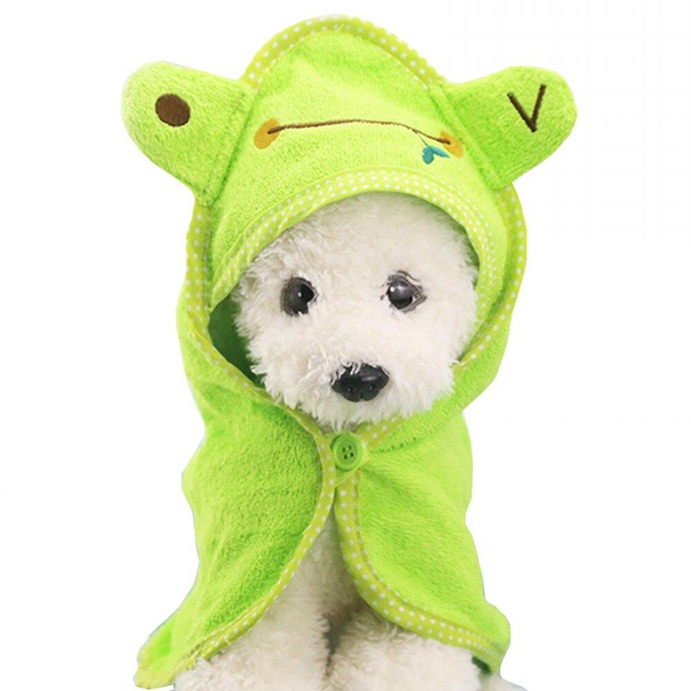 bleu Deux Microfibre Absorbant Pet Dog Travel Serviette 100x70cm