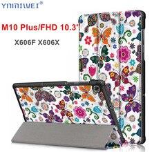 Case for Lenovo Tab M10 Plus Tb-x606f Tb-x606x Magnet Funda Cover for Lenovo Tab M10 2nd Gen 10.3 Inch Tablet Case полотенцедержатель двойной 65 5 см bemeta retro 144204058