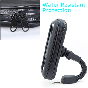 Image 4 - Untoom Motorrad Telefon Halter Moto Rückspiegel Lenker Ständer Halterung Roller Motorrad Wasserdichte Tasche Unterstützung Handy