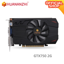 Graphics-Card Video-Car HUANANZHI Gtx 750 GDDR5 5000mhz 128bit DP 2G Hdmi Dvi 28nm 512units