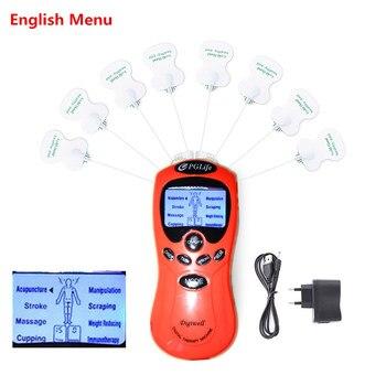 Φορητή Ηλεκτροθεραπεία – Ηλεκτροδιέγερση tens (για πόνο) και ems (για μυϊκή διέγερση)