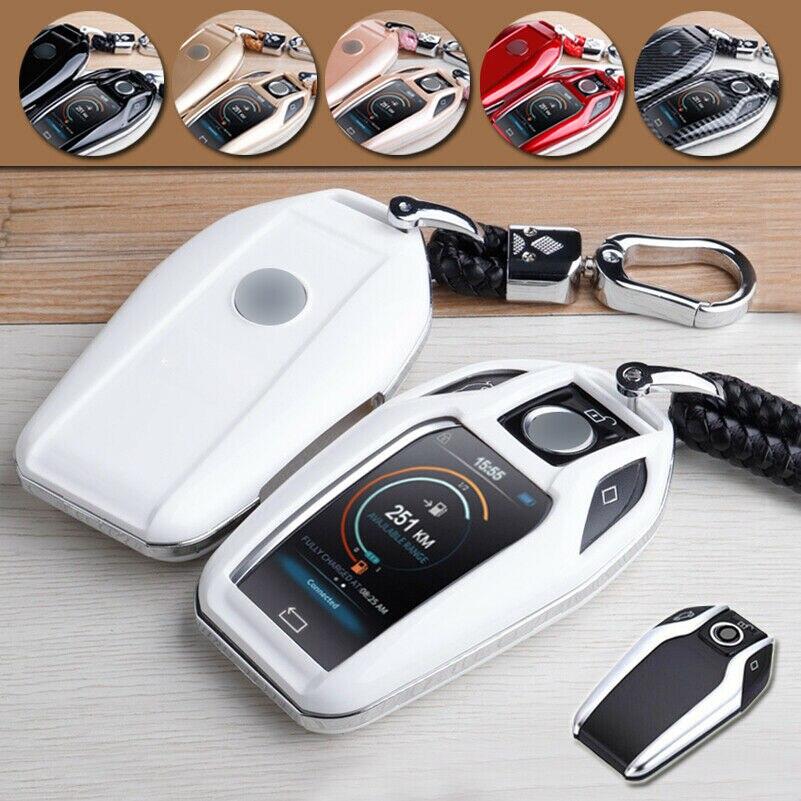 ABS автомобильный смарт ключ-брелок Чехол Обложка держатель для BMW 7 серии 5 G30 X3 Дисплей 730Li 740Li 750Li 760Li