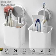 Toothbrush Holder Soap Dish Shaver Holder  Drill-Free Bathroom Organizer Hooks for Hanging   Bathroom  Rack Shelves