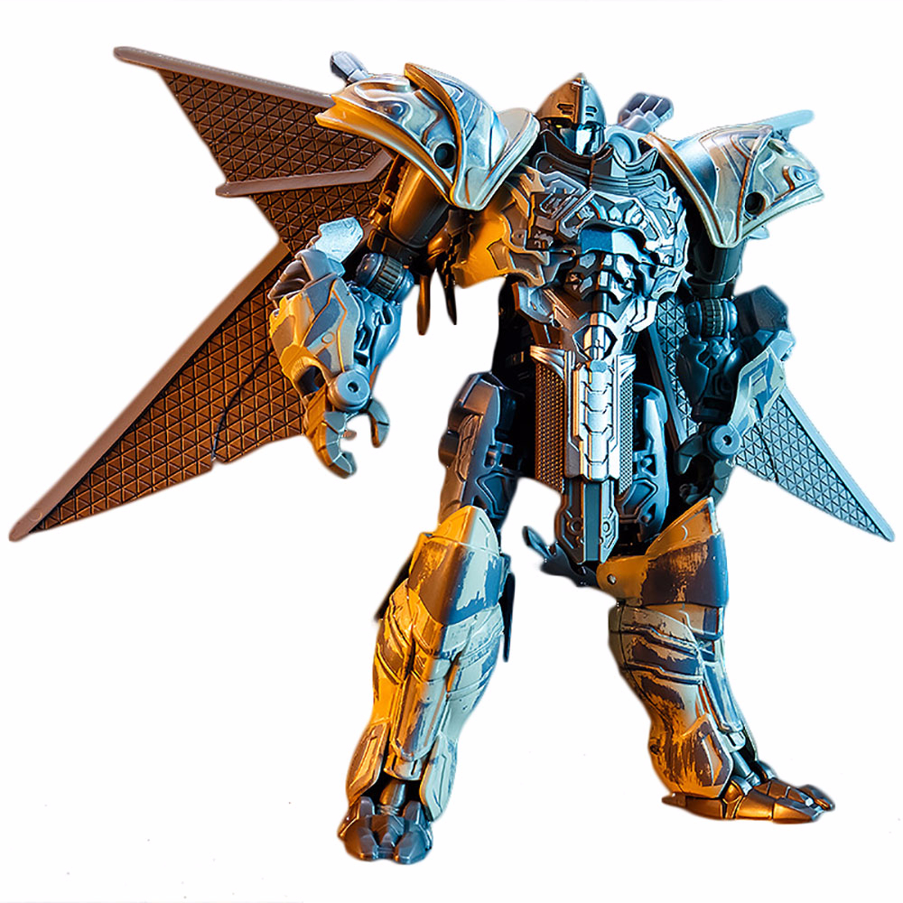 KBB Transformation Action Figure Toy Storm Dragon Movie Model 19cm Oversize ABS Deformation Alloy Car Robot Film 5th Figma Doll image