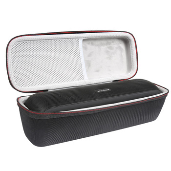 NEW Hard EVA Protect Storage Case for Speaker Anker Soundcore Motion+ Portable Bag with Mesh Pocket - Black