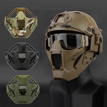 Airsoft Paintball Jacht Masker Tactische Combat Half Gezichtsmasker Militaire War Game Beschermende Gezichtsmasker Black Tan Green