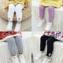 Новые весенние детские вязаные леггинсы для малышей модные теплые штаны для От 0 до 3 лет, одежда для детей леггинсы для малышей в подарок