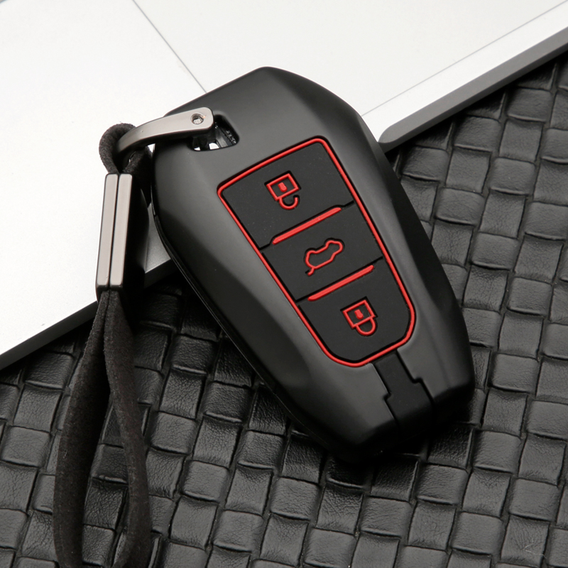 lowest price key Fob Shell Case Cover Car Key Accessories Remote Key Alloy Protector Fit For Tesla MODEL S MODEL X MODEL 3