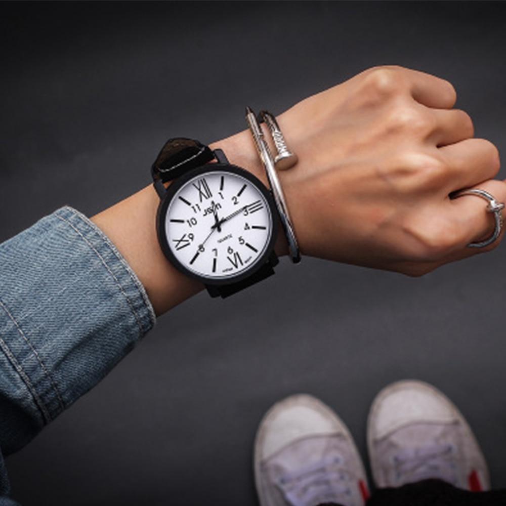 Lovers Wrist Watch Mens Womens Bracelet Watches Female Quartz Wristwatches Fashion Clock Ladies Watch Couple Roman Watches