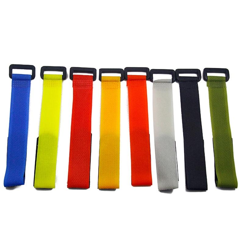 10 Pcs Fishing Rod Tie Holder Strap Fastener Reusable Adjustable Accessories EIG88