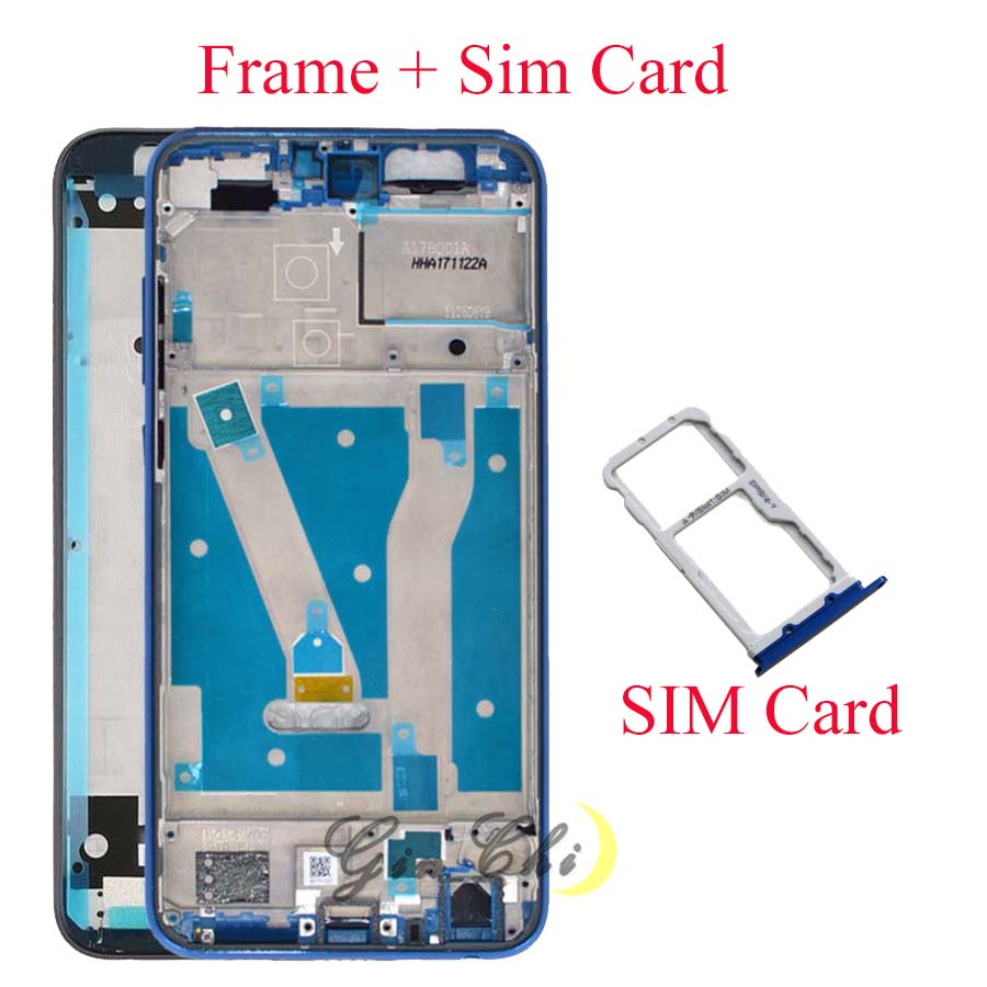 For Huawei honor 9 lite battery cover Door Back For Huawei honor 9lite middle frame Honor 9 Lite Sim Card tray 9Lite LCD Frame|Mobile Phone Housings & Frames| |  - title=