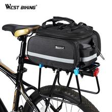 WEST BIKING велосипедная сумка большой емкости, водонепроницаемая велосипедная сумка, велосипедная сумка для горного велосипеда, велосипедная сумка