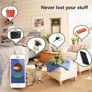Умный gps-трекер для домашних животных, анти-потерянный портативный bluetooth-трекер для собак, кошек, трекеров, брелок, кошелек, кулон для поиска детей, оборудование