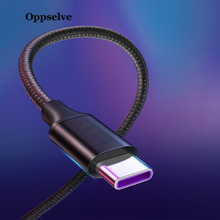 Oppselve USB Type C Cable For xiaomi redmi k20 pro USB C Mobile Phone Cable Fast Charging Type C Cable for USB Type-C Devices 2m цены