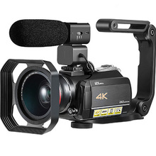 Ordro AC5 4K Video Cameras Professional Digital Camcorder 12X Optical Zoom Wifi