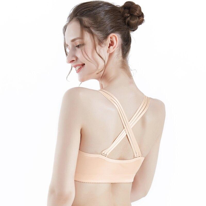 Бюстгальтер Elovegirl женский дышащий с застежкой спереди, пикантное удобное мягкое нижнее белье, большие размеры, 75A-115E, два цвета