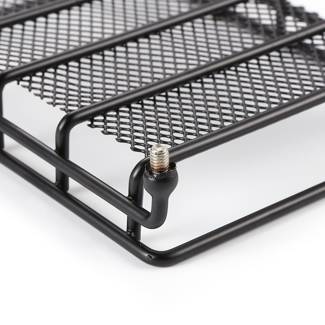 Steel Luggage Tray Roof Rack Upgrade Parts for 1/10 RC Crawler Climbing Car Traxxas Hsp Redcat Rc4wd Tamiya Axial scx10 D90 Hpi
