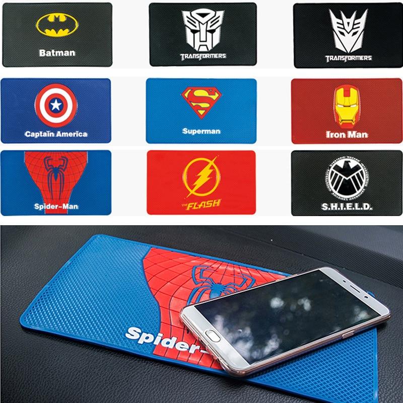 27x15cm Car Magic Anti-Slip Mat Dashboard Sticky Pad Super Hero Non-slip Mat Holder For GPS Cell Phone  Car Perfume Dropshipping