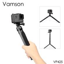 Vamson สำหรับขาตั้งกล้อง Xiaomi Selfie Stick สำหรับ iPhone สำหรับ DJI OSMO กล้องกีฬา Yi 4K อุปกรณ์เสริมสำหรับ Gopro hero 7 6 5 VP423