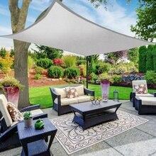 3/4 x5m 5 x6m 6 x8m uv water-proof Oxford outdoor sun sunscreen shade sails net canopy courtyard garden encryption