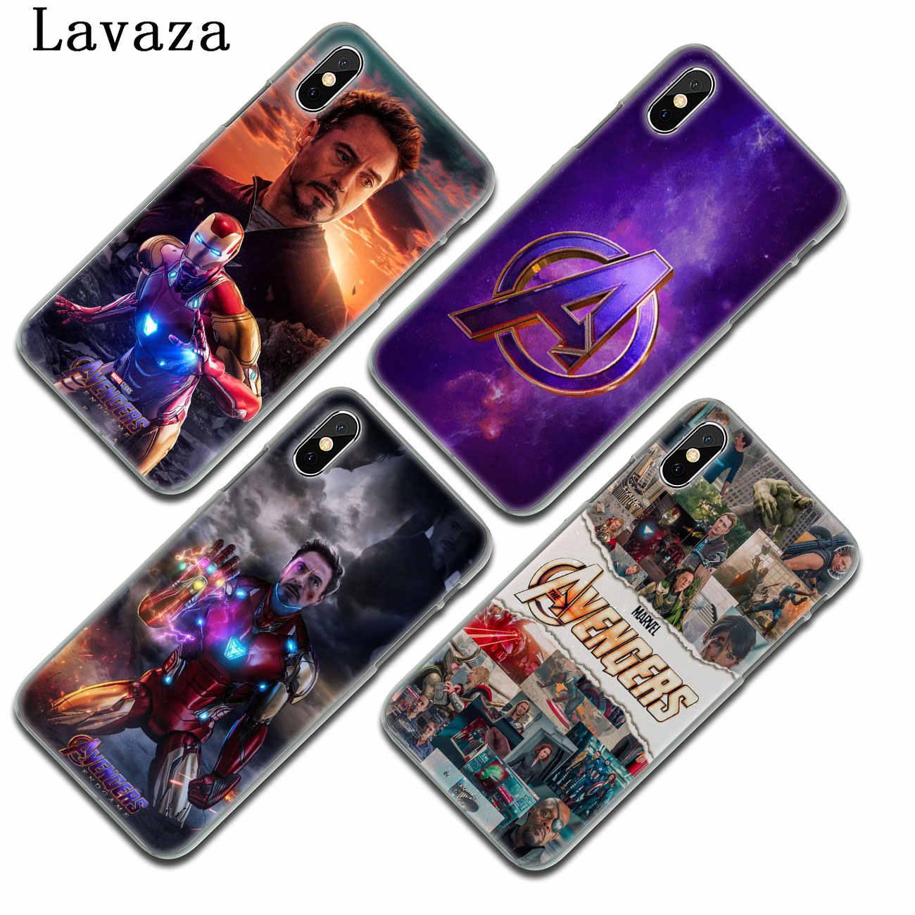 Lavaza アイアンマンマーベルアイアンマン Iphone XR XS × 11 プロマックス 10 7 8 6 6 4S 5 5S 、 SE 4 4S 4 カバー