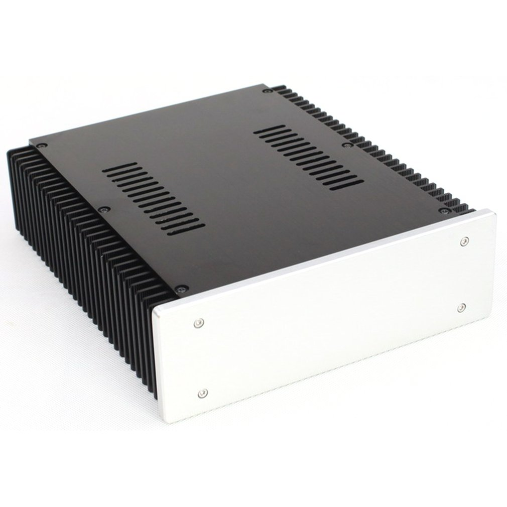 All-Aluminum Power Supply Case DAC Decoder Class A Amplifier DIY Chassis WA92