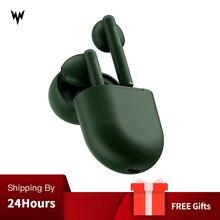 Orijinal Whizzer B7 наушники TWS BravoPods kablosuz kulak kulaklık ses kontrolü Bluetooth 5.0 gürültü azaltma musluk kontrolü