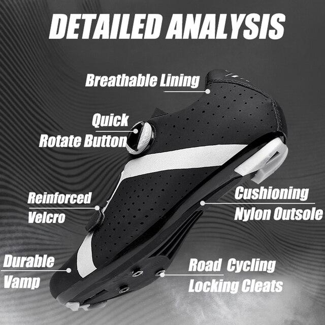 Homens ciclismo sapatos de velocidade auto-bloqueio sapatos mtb homem de bicicleta de estrada sapatos de corrida de tênis triathlon ciclismo mtb 2020 2