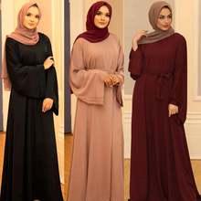 Мусульманин Кафтан платье хиджаб Абая Дубайский кафтан marocain