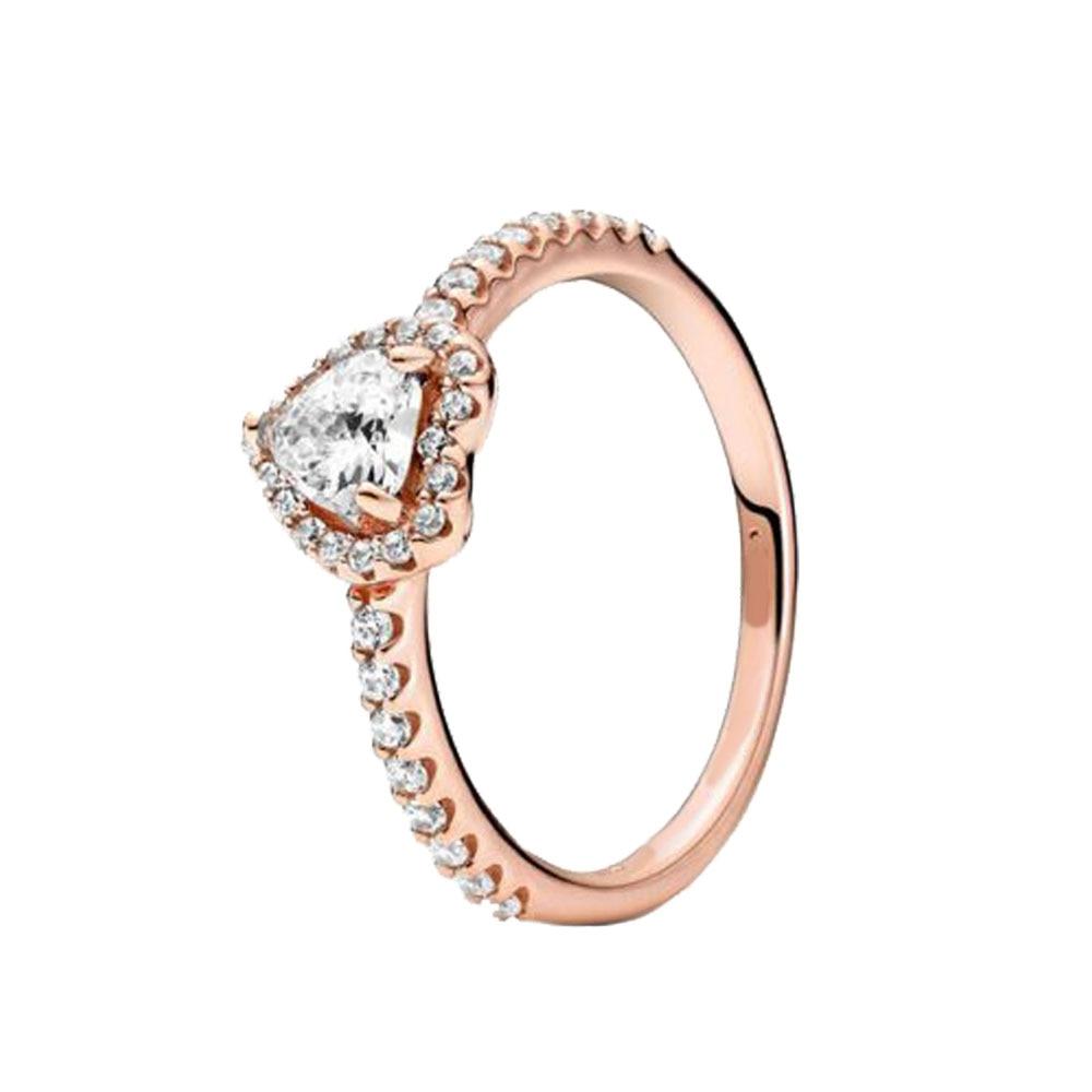 2020 nouvel hiver 925 bague en argent Sterling étincelant flocon de neige anneaux femmes fiançailles anniversaire bijoux 2