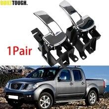 2X Car Inner Interior Door Handle Front Rear Left Right For Nissan Navara D40 Pathfinder R51 2005 2015 806704X02B 806714X02B