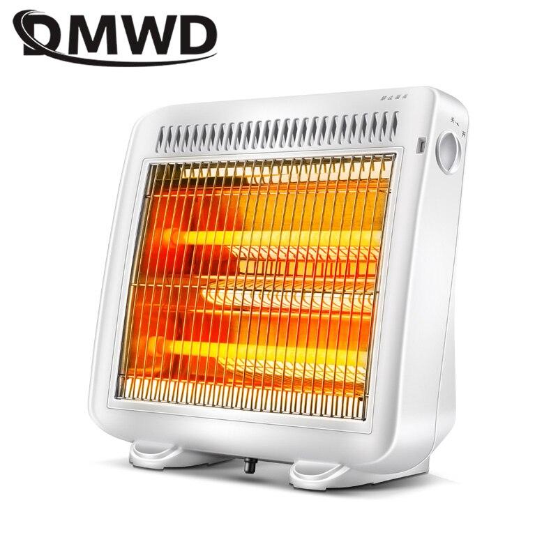 DMWD 1000W 2 Gears Adjustable Portable Electric Heaters Home Room Floor Desk Electric Fan Heater Warmer Hot Winter fast-heating