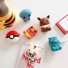 Pokemon Kawaii Pikachu AirPods Pro Silicone Anti-drop Bluetooth Earphone Cases Cartoon Fashion Protective Case Box Gifts