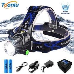 Super brilhante LEVOU Farol lâmpada de Pesca Farol Zoomable modos de iluminação 3 Utilizado para a aventura camping caça, etc uso 18650