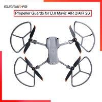Sunnylife-Protectores de Hélice para DJI Air 2S / Mavic Air 2, integrados con engranajes de aterrizaje, anillos de protección anticolisión