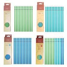 12 шт Профессиональный карандашный карандаш для набросков углеродная