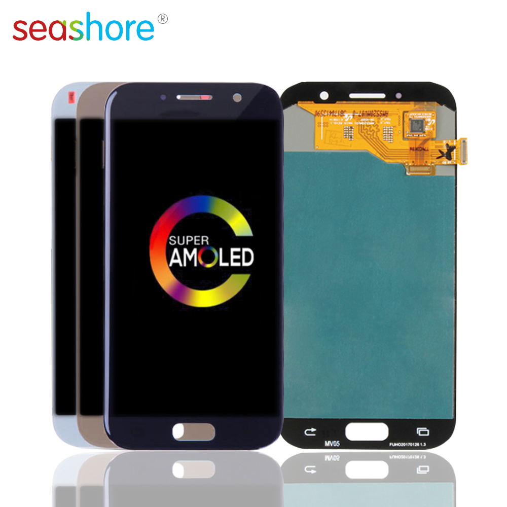 """5.2""""OLED For SAMSUNG Galaxy A5 2017 A520 LCD Touch Screen Digitizer Assembly For Samsung A520 Display A520F A520F/DS A520K/L/S"""